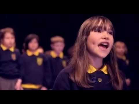 Killard House Special School choir singing Hallelujah - 19-12-2016