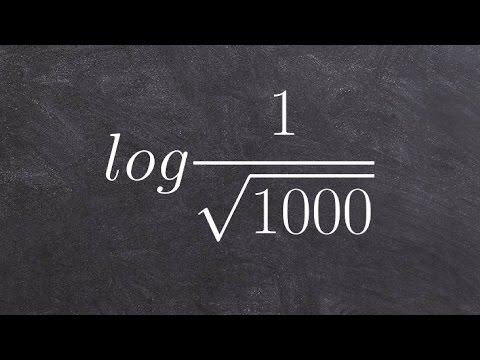 Evaluating a Logarithm Without a Calculator