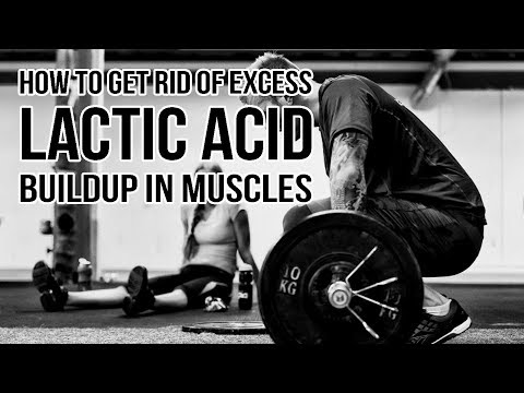 How to get rid of Excess LACTIC ACID (Burning Sensation) Build Up in Muscles