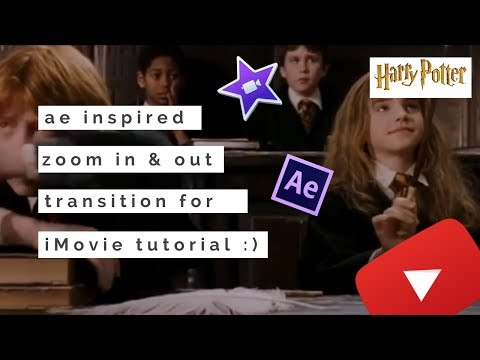 ae Inspired Zoom in & out Transition For iMovie Tutorial | multiixdits tutorials