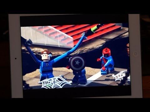 LEGO ® Marvel ™ Super Heroes: Universe in Peril App Review For iPhone, iPad & iPod
