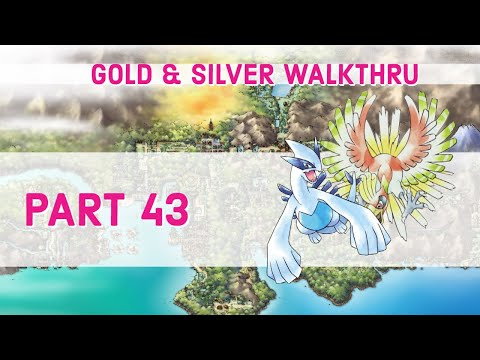 Pokemon Gold/Silver Walkthrough - Part 42 - Saffron City Gym