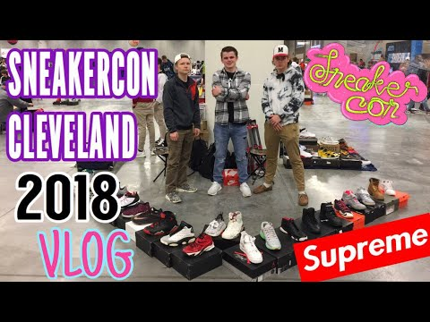SNEAKERCON CLEVELAND TWO DAY VLOG EXPERIENCE! (BUYING YEEZYS AND SUPREME)