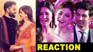 Bollywood Celebs Reaction on Virat Kohli Anushka Sharma Wedding in Italy