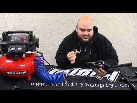 Air Compressor Adapter For Low Pressure Guns