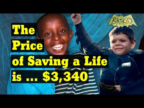 The Price of Saving a Life ... is $3,340