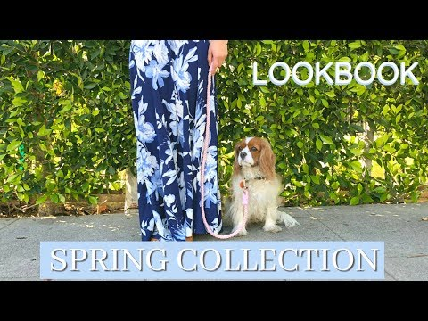Spring Collection Lookbook | Rope Leashes for Dogs