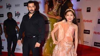 Salman & Harshali Malhotra Win Filmfare 2016 Award For Bajrangi Bhaijaan
