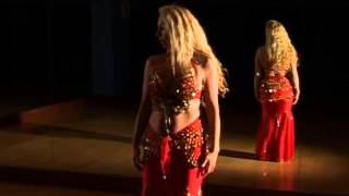 Shakira Belly Dancing Moves Combo 3