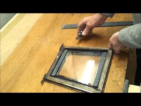 Rocket stove door build and water heater update