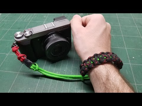 How-To: Paracord Camera Wrist Strap (GX85 Test)