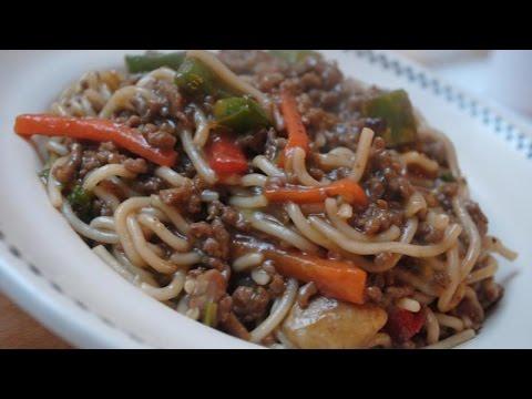BEEF NOODLE STIR FRY - Student Recipe