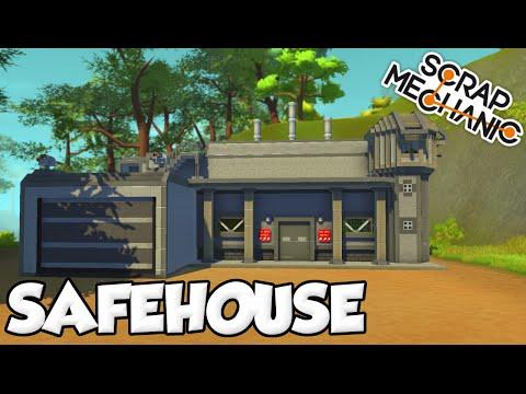 FACTORY SAFEHOUSE! - Scrap Mechanic Apocalypse World [Ep. 1]