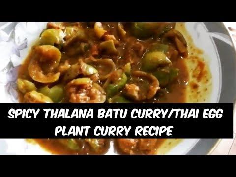 Spicy Thalana batu  curry\Thai eggplant Curry-By Tantalizing Food