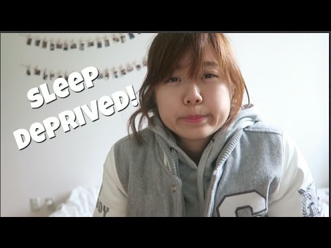 A Day in the Life of a Japanese University Student // Sleep Deprived!