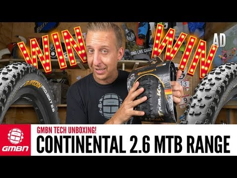 Continental's New B+ Premium Range Of Mountain Bike Tyres | GMBN Tech Unboxing