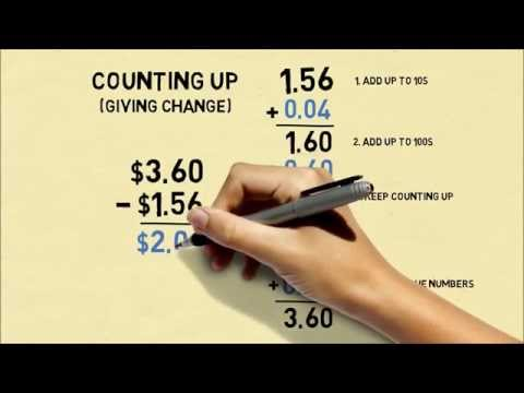 4 Methods To Subtract Numbers (Common Core Subtraction)