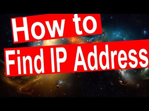 How to find my ip address on Computer/PC.