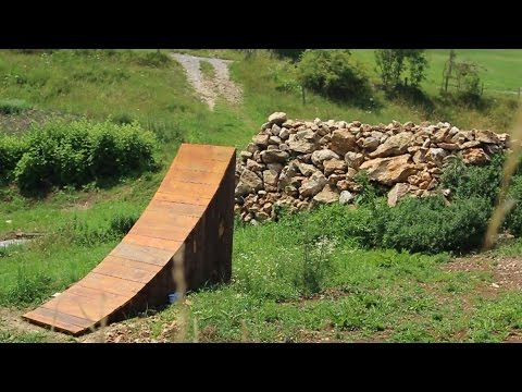 How to Build a BMX / MTB Kicker