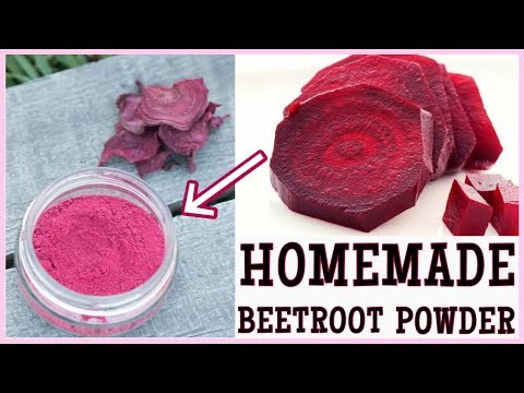 Homemade Beetroot Powder, How To Make Beetroot Powder At Home, DIY Beetroot Powder