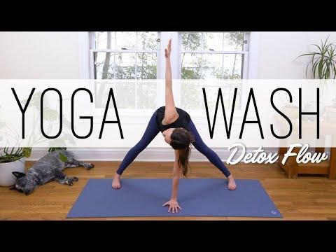 Yoga Wash - Detox Flow  |  Yoga With Adriene