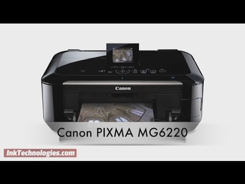 Canon PIXMA MG6220 Instructional Video