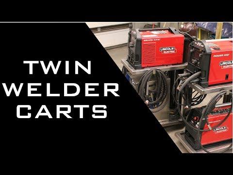 Twin Welder Carts