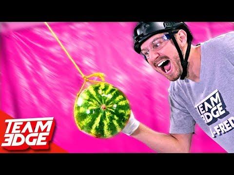 FRUIT Tetherball Challenge!!