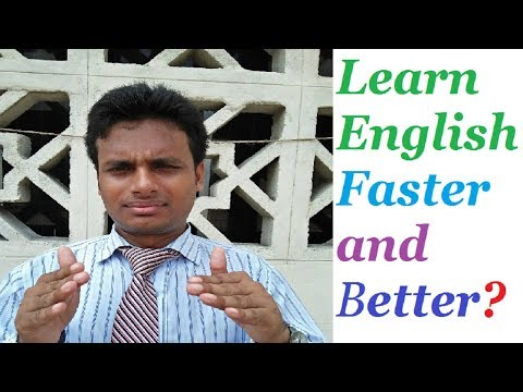 How to Learn English Faster and Better? Free Spoken English Lessons