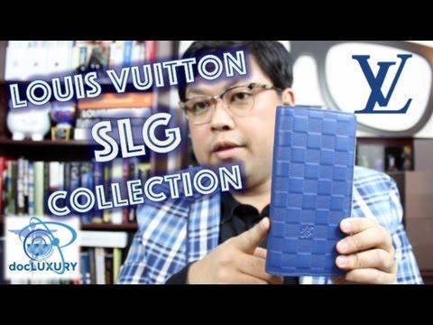 Louis Vuitton SLG collection.  A men's edition.