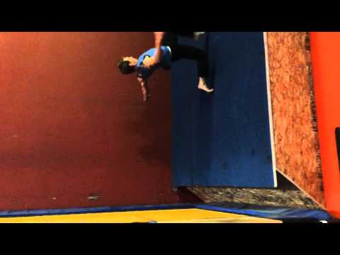 Tramp Wall Tutorial: Backflip From Your Back