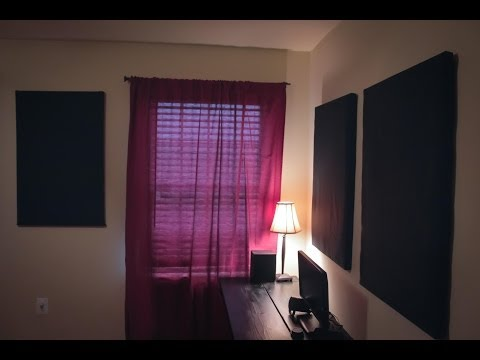 How to make acoustic panels