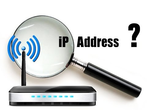 what is the ip address of a router ?