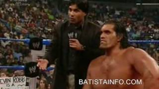 Batista smackdown contract signing