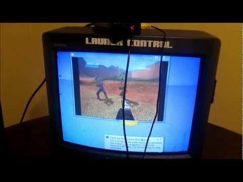 Tutorial: How to hook your computer to a CRT Tv