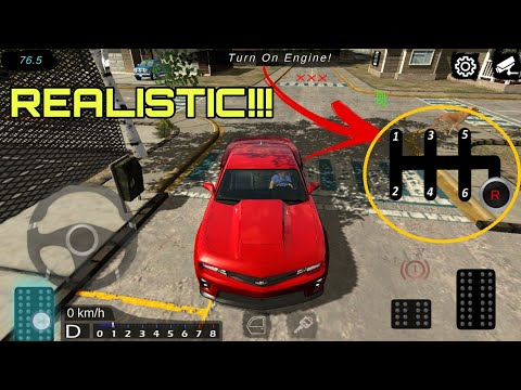 Realistic Car Driving Game Android [Offline] | With Gears | Learn To drive