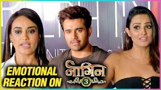 Anita Hassanandani, Pearl V Piri,  Surbhi Jyoti, EMOTIONAL Reaction On Naagin 3 Finale Episode