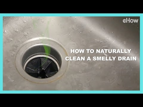 How to Naturally Clean a Smelly Drain | DIY IRL