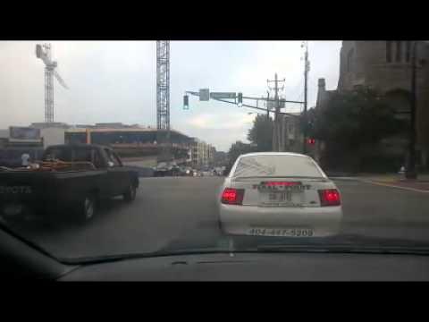 Motorcycles and ATVs holding up Atlanta traffic for no reason