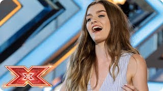 Holly Tandy wows the panel with Alicia Keys track | Auditions Week 1 | The X Factor 2017