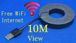 How to get free WiFi Internet anywhere iPhone get free WiFi at home without a router WiFi free