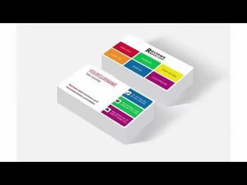Free Download Metro Style Business Card Template