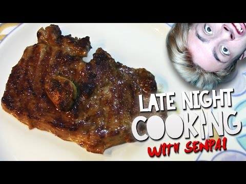 Late Night Cooking With Senpai | The Perfect Steak
