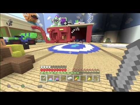 Minecraft PS3 Disney Pixar Hunger Games by Jay416