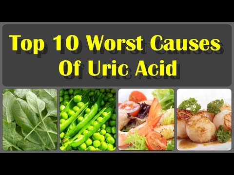 What Causes High Uric Acid Levels in The Body? And Get Rid Of Uric Acid Crystals Fast
