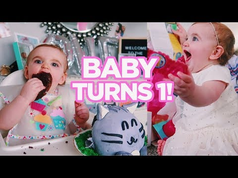 Baby Emerson's FIRST BIRTHDAY SPECIAL!!!