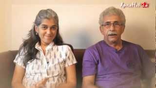 Naseeruddin Shah with wife Ratna Pathak Shah and daughter Heeba Shah performing in Toronto - 2012