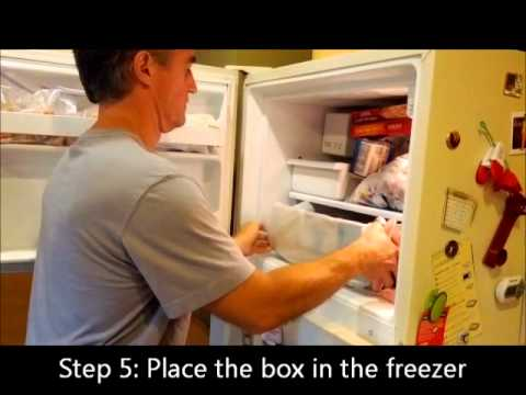 How to Make an Ice Block