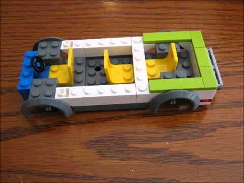 Lego Camper Build 7639