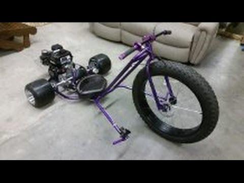Motorized drift trike build Ver 2.0 (part 1)